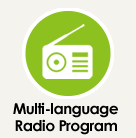 Multi-language Radio Program